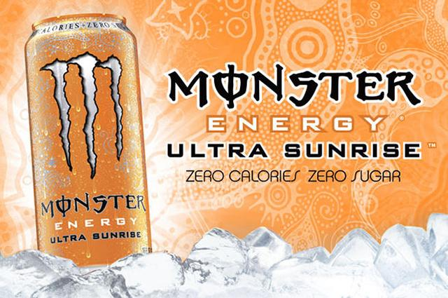 Monster Energy Drink - Ultra Sunrise