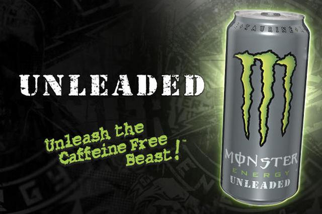 Monster Energy Drink - Unleaded