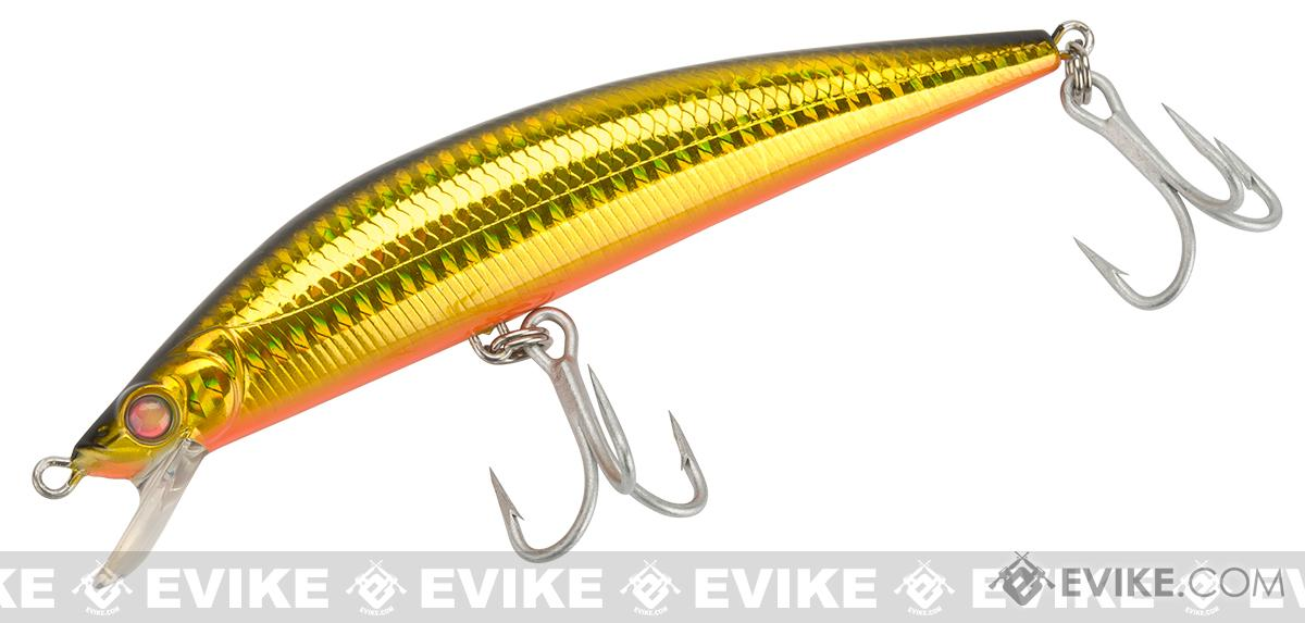 Savage Gear Manic Prey Shallow Diving Hard Lure (Model: Gold Orange Belly 6)