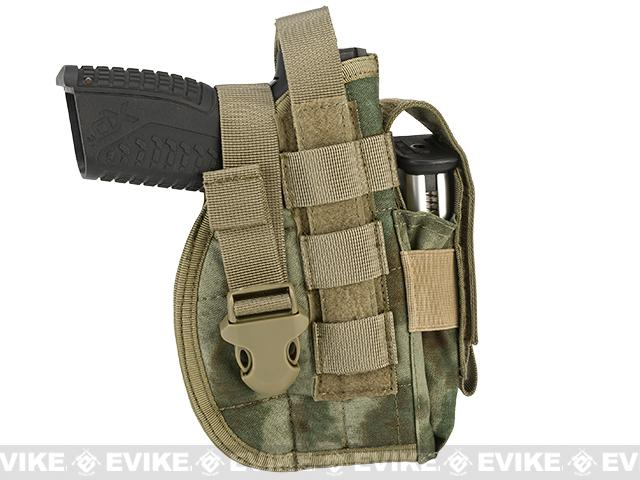 Avengers MOLLE Tactical Pistol Holster (Color: Arid Foliage)