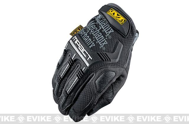 Mechanix Wear M-Pact Gloves (Color: Black-Grey / Medium)
