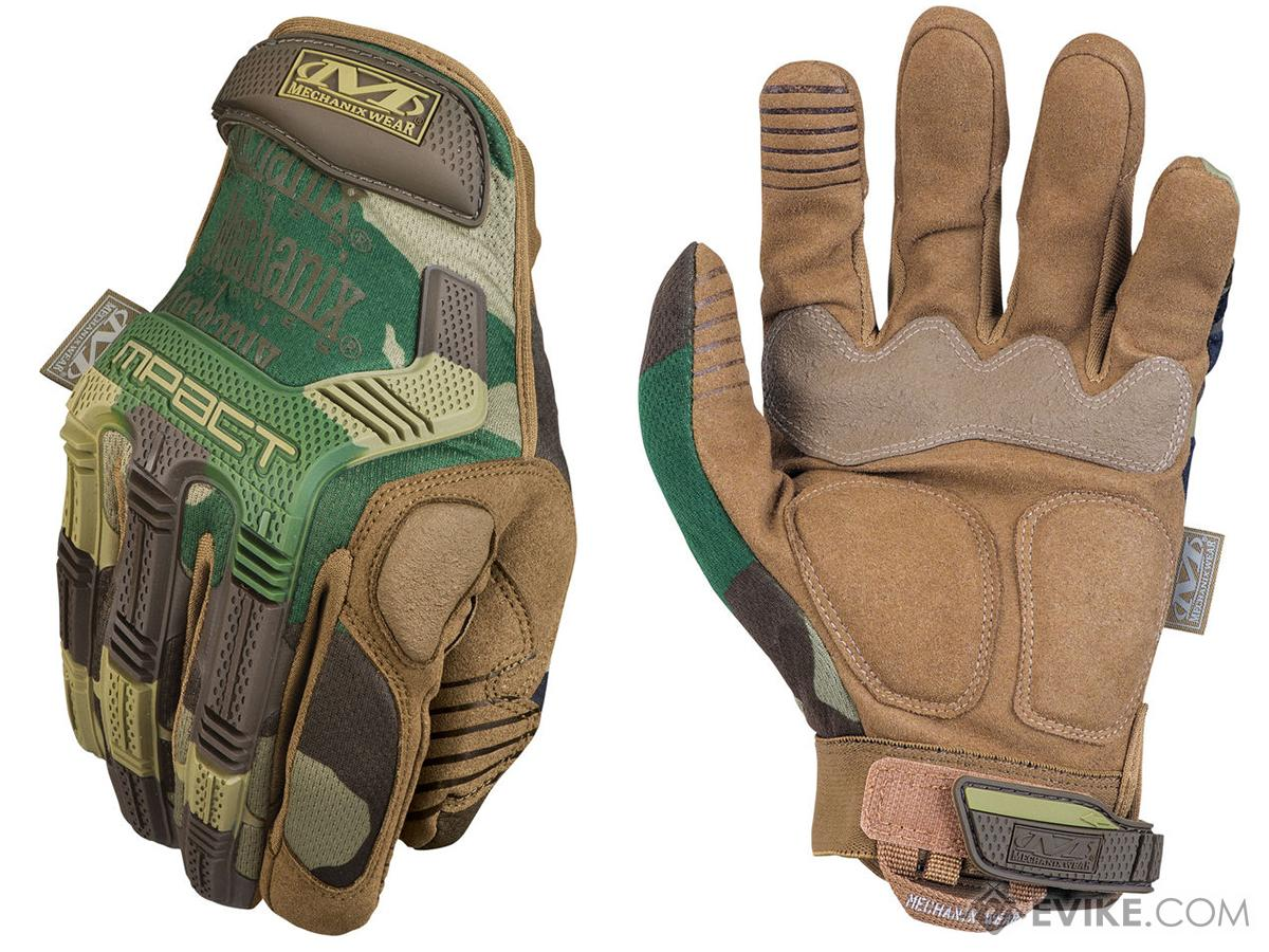 Mechanix Wear M-Pact Gloves Ver.2 - Woodland (Size: X-Large)