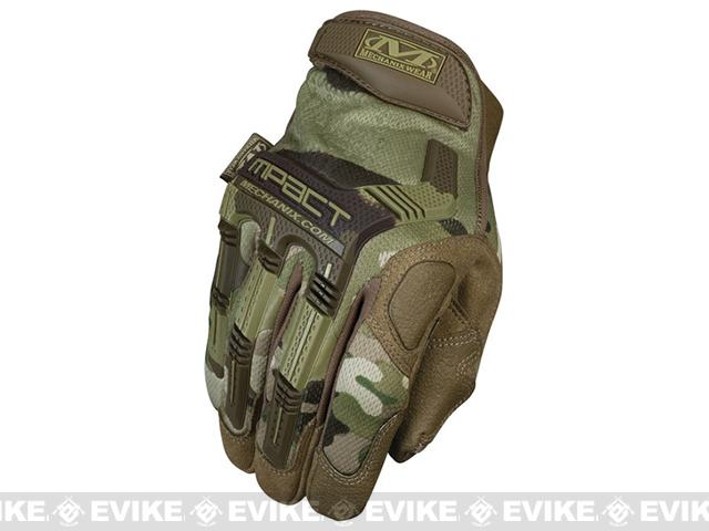 Mechanix Multicam M-Pact Tactical Gloves (Color: Multicam / X-Large)