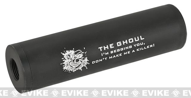 Matrix Airsoft Mock Silencer / Barrel Extension - 30 X 110mm (Style: Ghoul / Black)