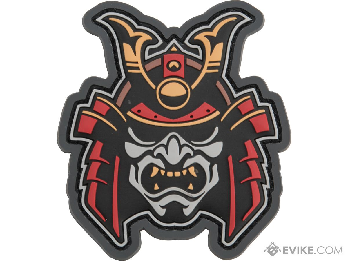 Mil-Spec Monkey Samurai Head 1 PVC Morale Patch (Color: Fullcolor)