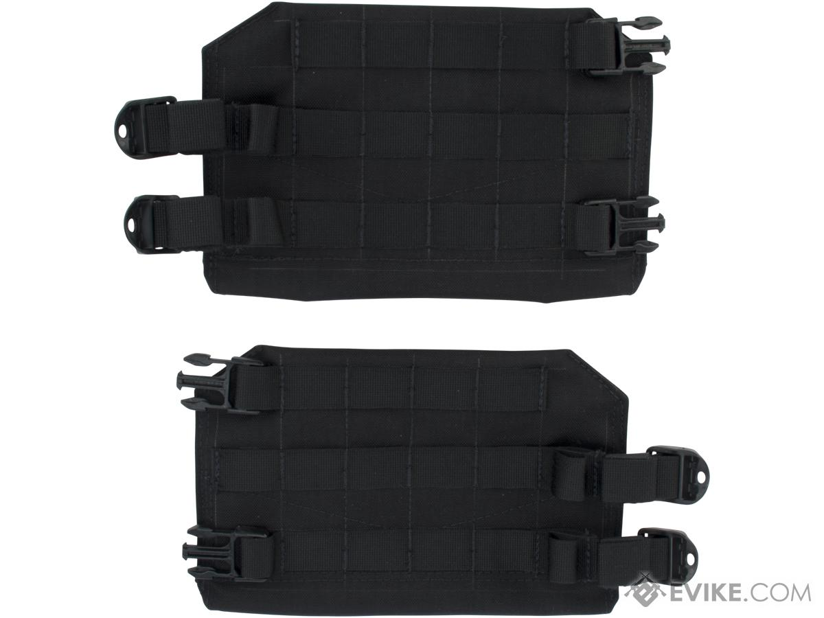 Mission Spec FlankSavers Side Armor Plate Adaptors for AC2 and EC2 Plate Carriers  (Color: Black)