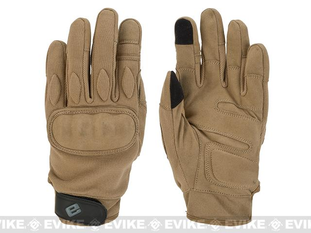 Evike.com Guardian Hard Knuckle Tactical Gloves (Color: Tan / Medium)