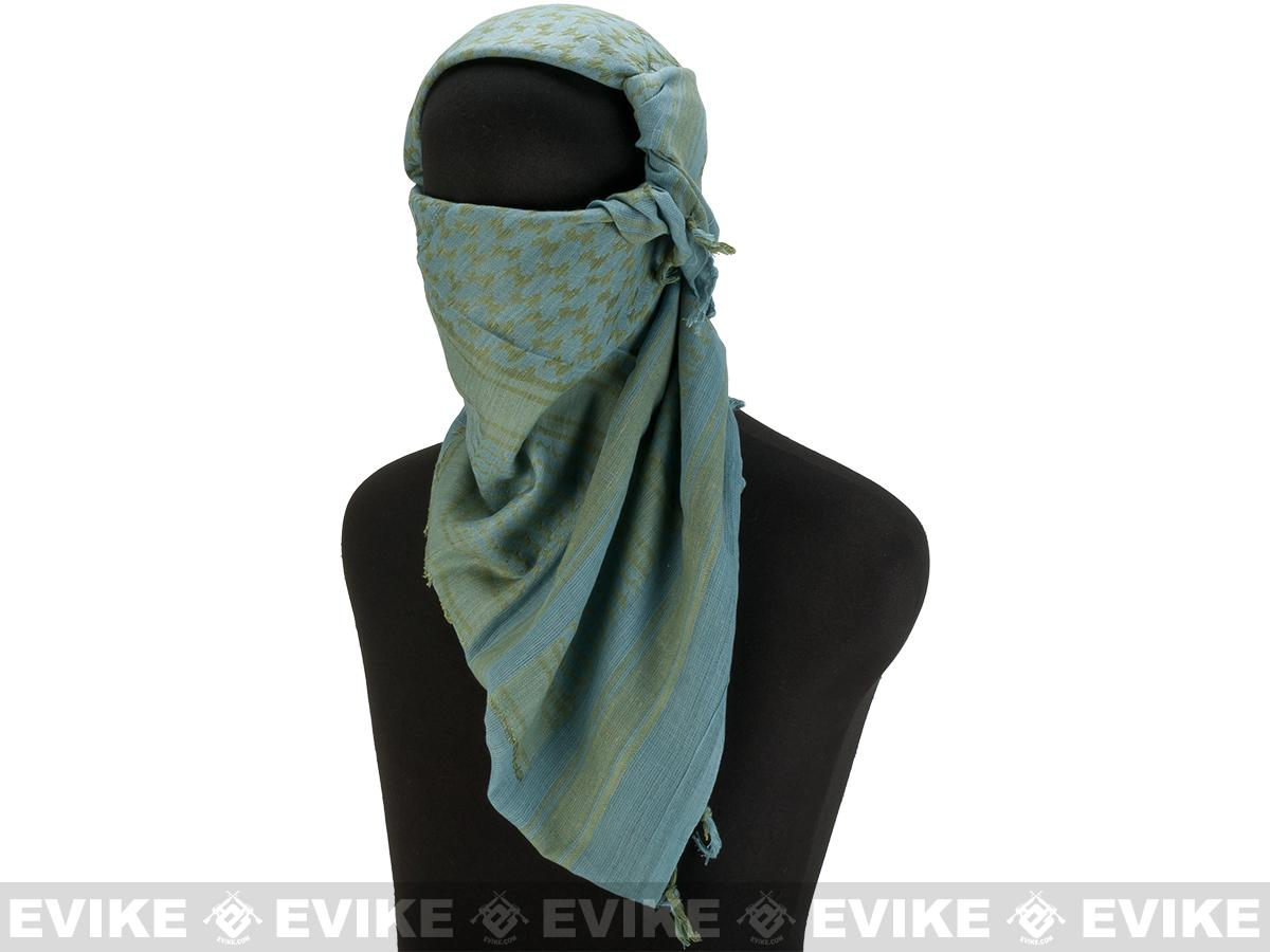 Matrix Woven Coalition Desert Shemagh / Scarves (Color: ACU/Green)