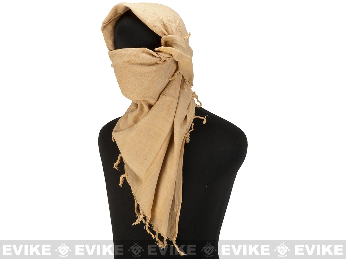 Matrix Woven Coalition Desert Shemagh / Scarves (Color: Khaki)