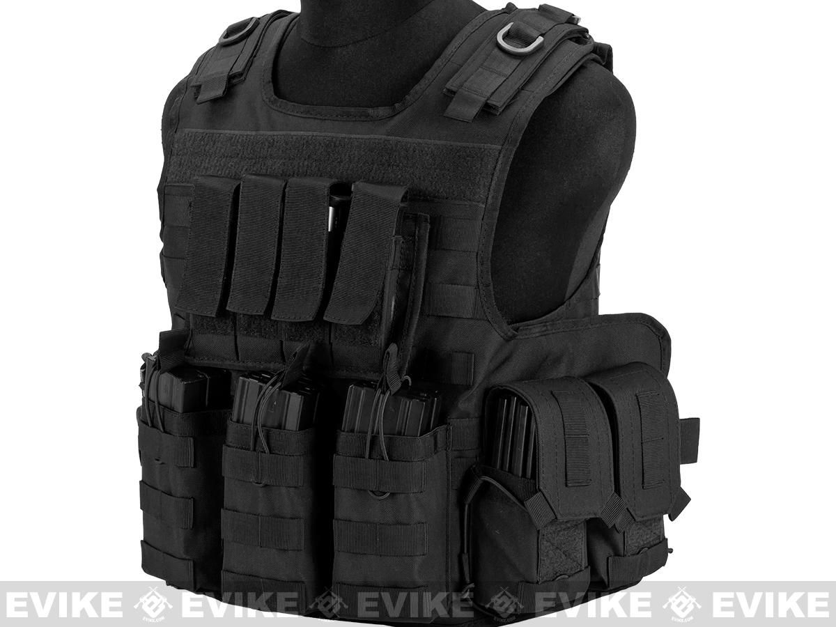 Matrix MTS Small Arms Light Assaulter Vest - Black