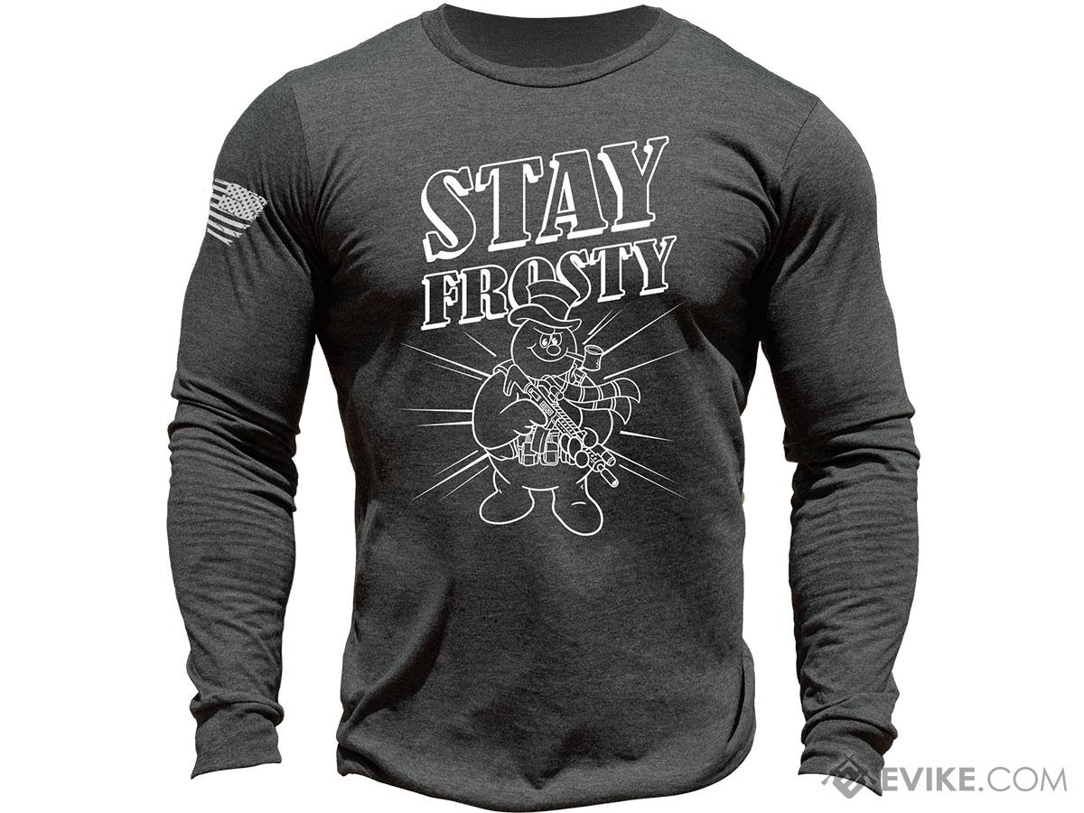 MUSA Limited Edition Stay Frosty Shirt (Color: Dark Grey Heather / X-Large)