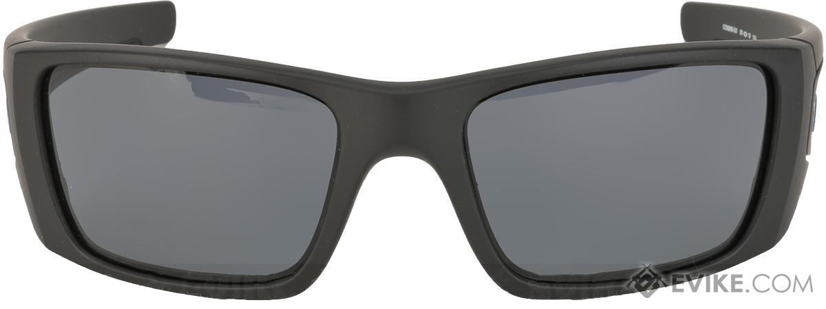 fd6eaa2d13b ... greece oakley si fuel cell thin blue line black w warm grey lenses.  hover or