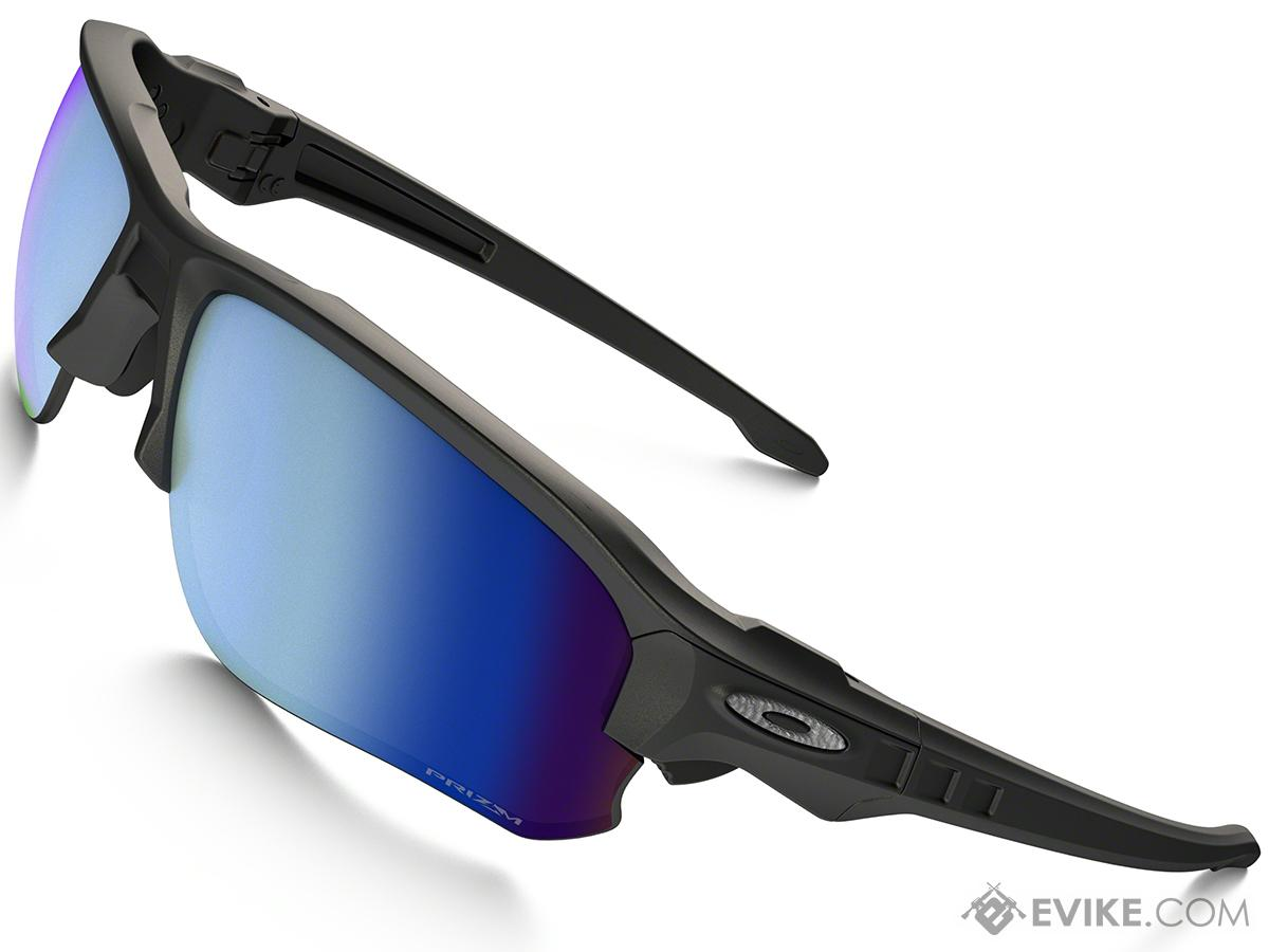5a0380f5da Oakley Speed Jacket Sunglasses - Black with Prizm Deep H20. Hover or touch  above to zoom. Product image 1 ...