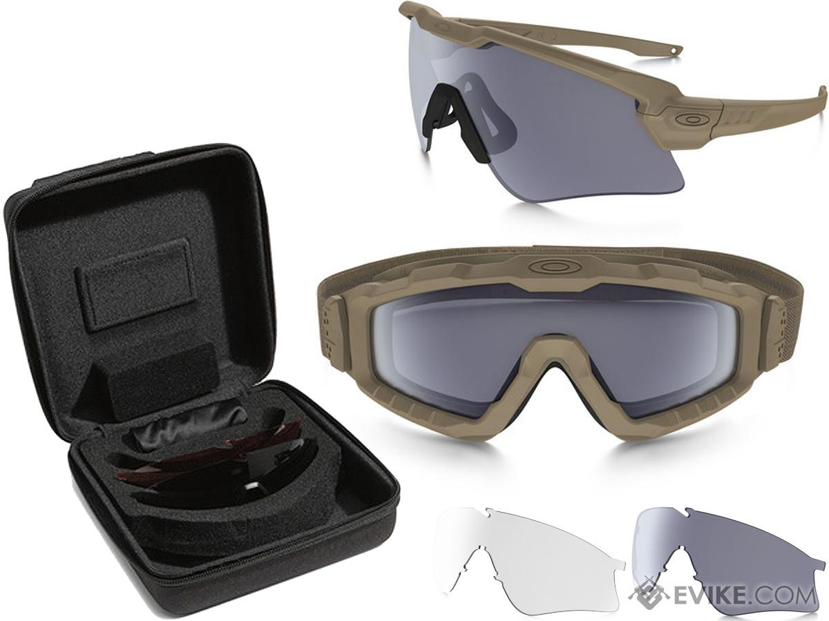 450f647db2 Oakley SI Ballistic M Frame Alpha Operator Kit (Color  Terrain Tan ...