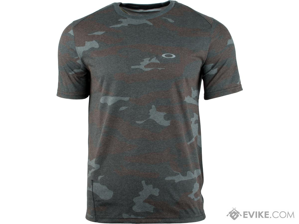 Oakley Link Short Sleeve T-Shirt (Size: Camo / Large)