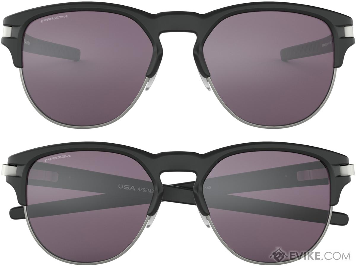 86283c7e49 Oakley Latch Key Sunglasses (Color  Matte Black   Prizm Grey   Medium).  Hover or touch above to zoom. Product image 1 Product image 2 ...
