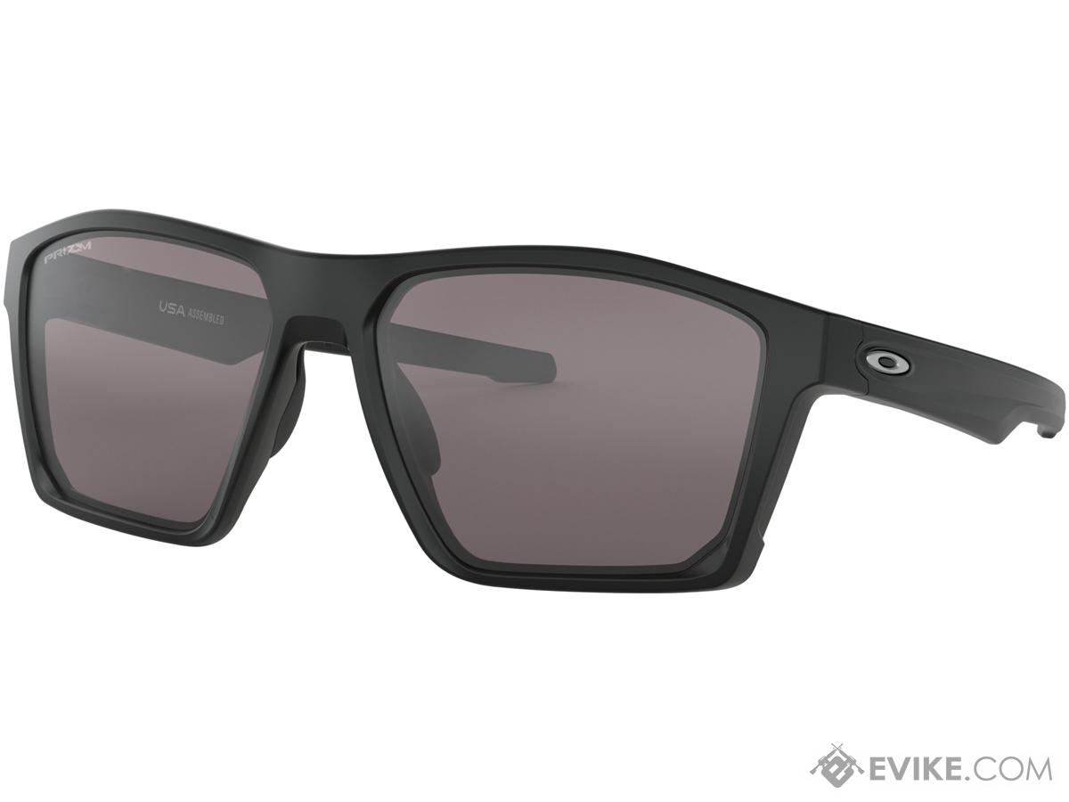 Oakley Targetline Sunglasses (Color: Matte Black / Prizm Black Iridium)