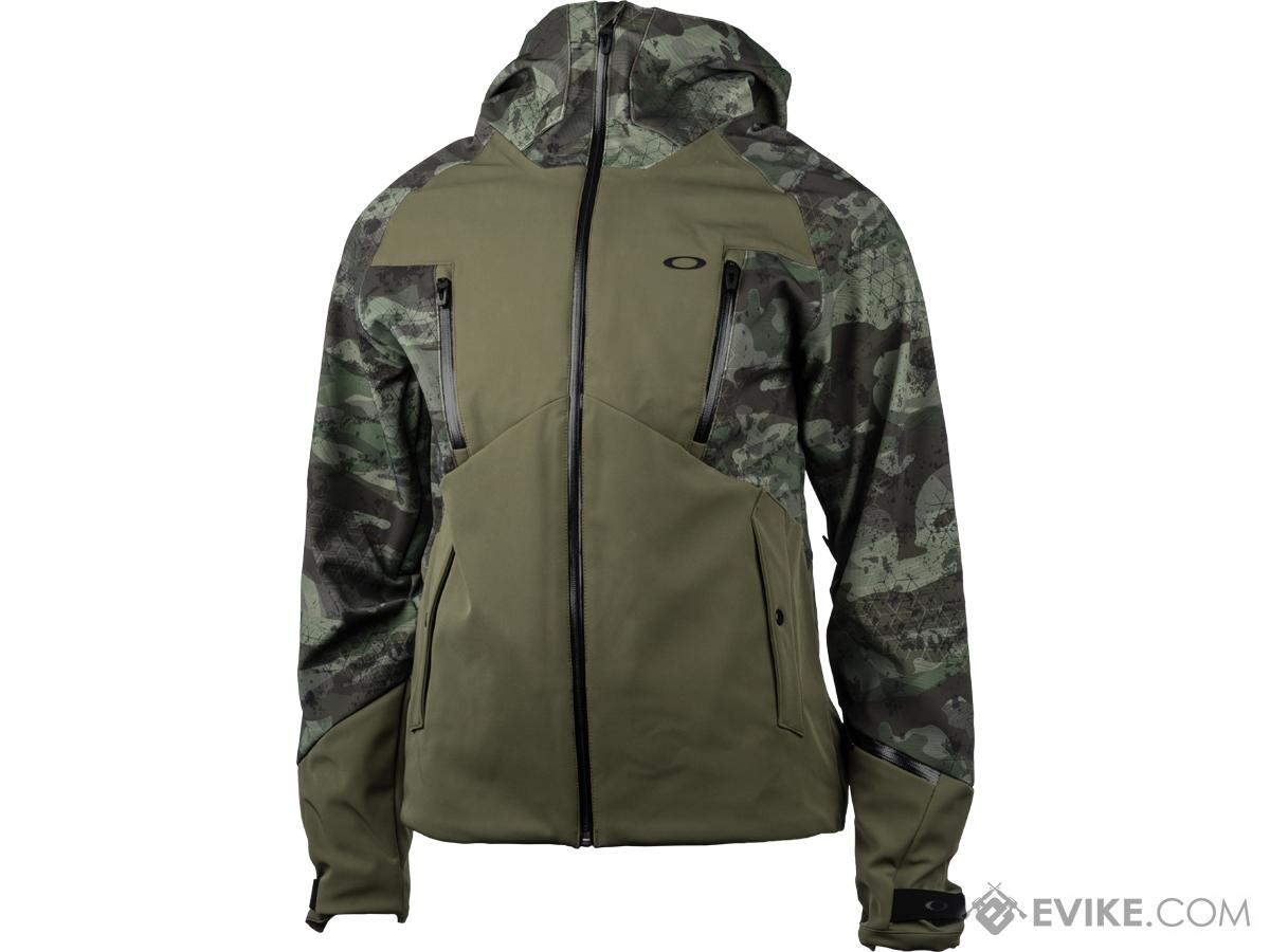 Oakley 10k Hooded Jacket (Color: Dark Brush / Large)
