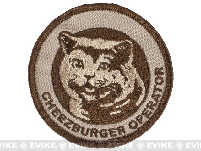 ORCA Industries Cheezburger Operator Embroidered Patch