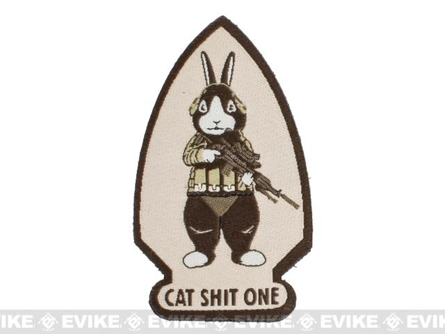 ORCA Industries CatShitOne Botasky Embroidered Patch - Tan
