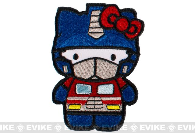 Matrix Optimus Kitty Embroidered Patch