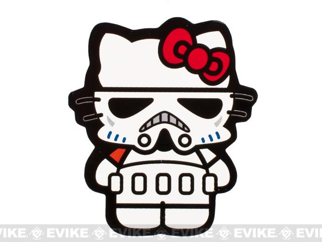 z ORCA Industries Storm Trooper Kitty Vinyl Sticker