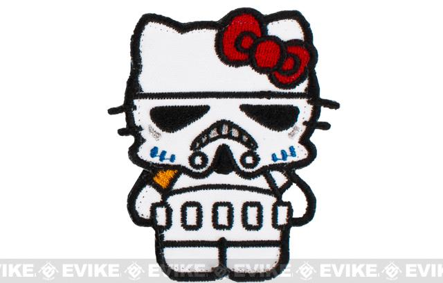 Matrix Storm Trooper Kitty Embroidered Patch