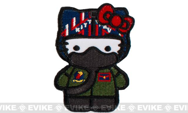 Matrix Top Gun Kitty Embroidered Patch