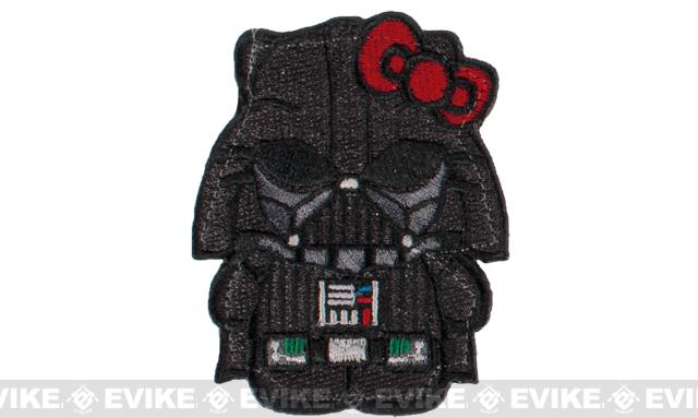 Matrix Darth Vader Kitty Embroidered Patch