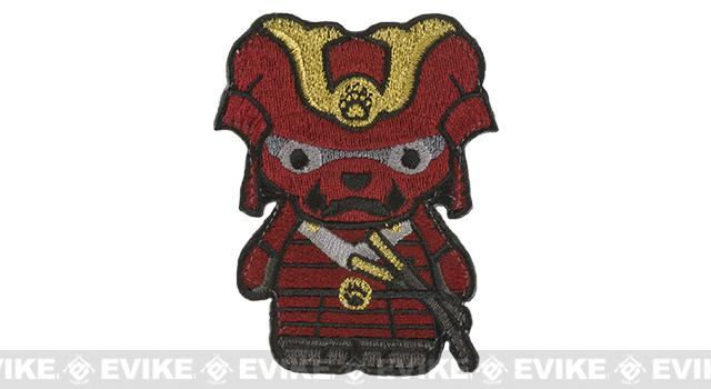 Orca Industries Kuma Korps - Samurai Bear Embroidered Patch - Red