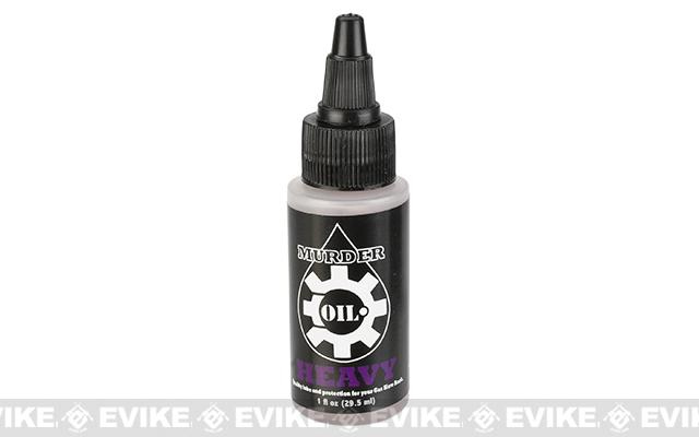 Murder Oil Airsoft Lubricant - 1oz Bottle / Heavy