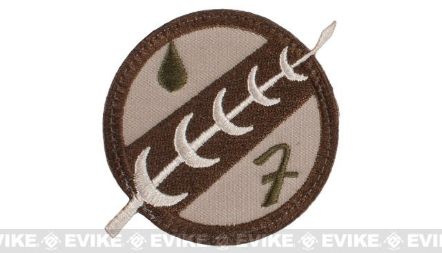 ORCA Industries Mandalorian Crest Embroidered Patch - Tan