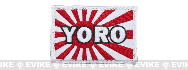 YORO Kamikaze Hook and Loop Patch - Full Color