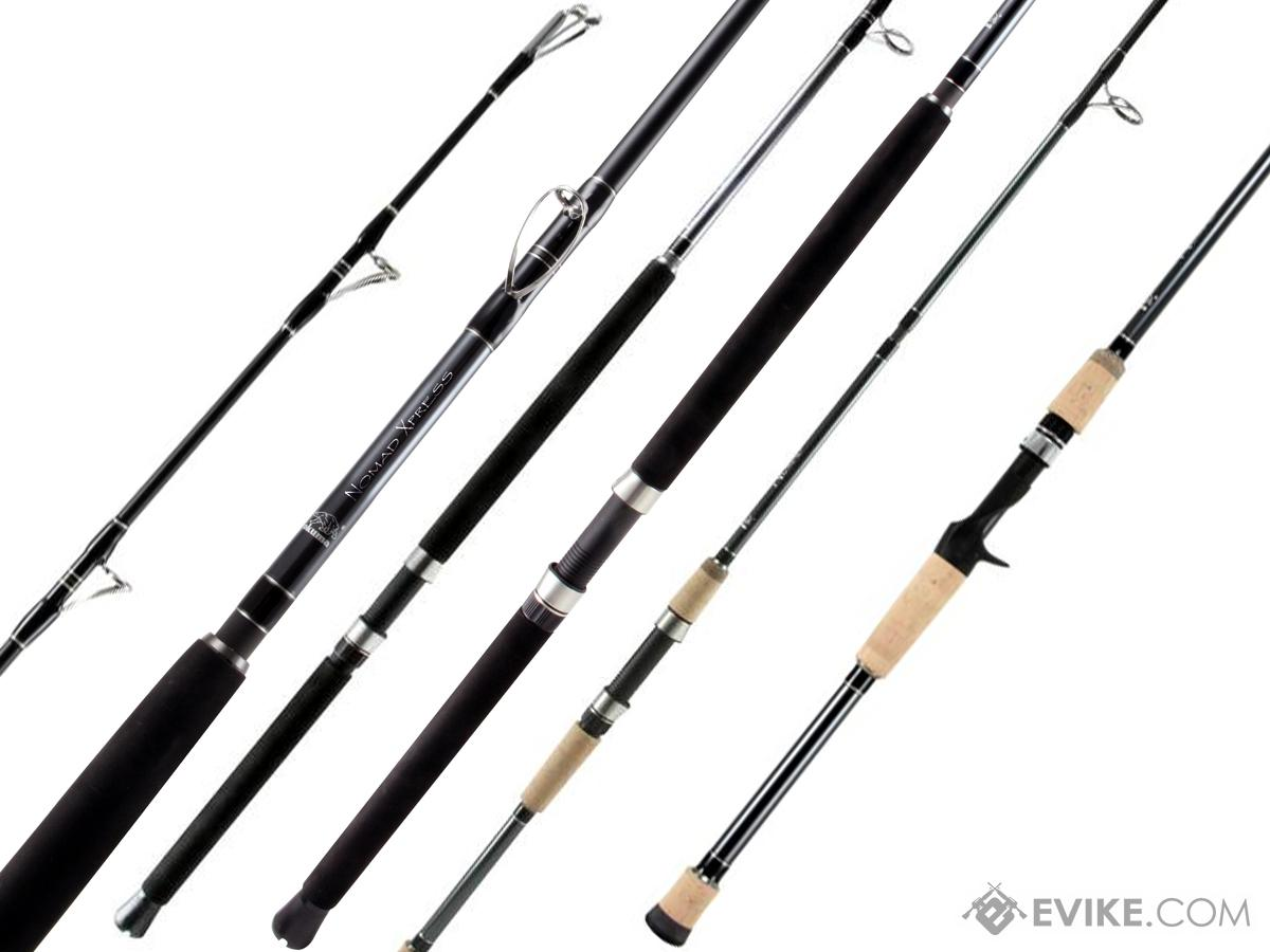 Okuma Nomad Xpress Travel Fishing Rod (Model: Inshore Spinning / 7' MH)