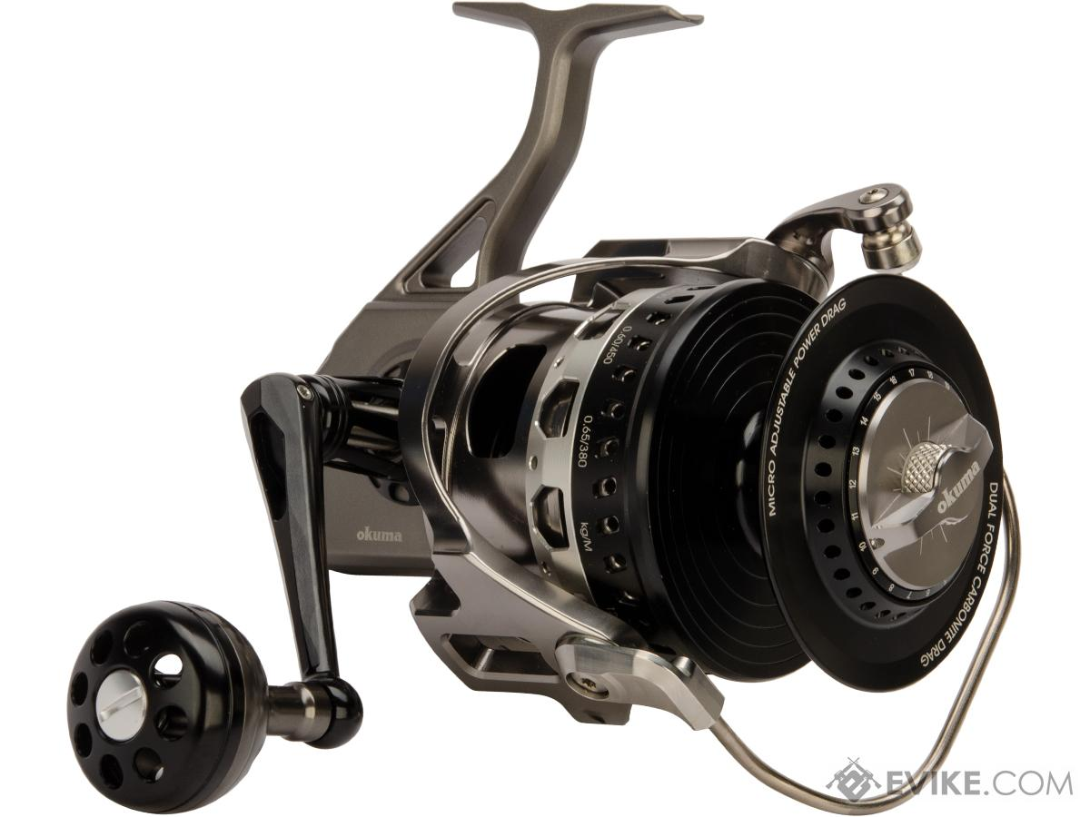 Okuma Machined Aluminum Makaira Spinning Reel (Model: MK-30000RS / Right Hand)