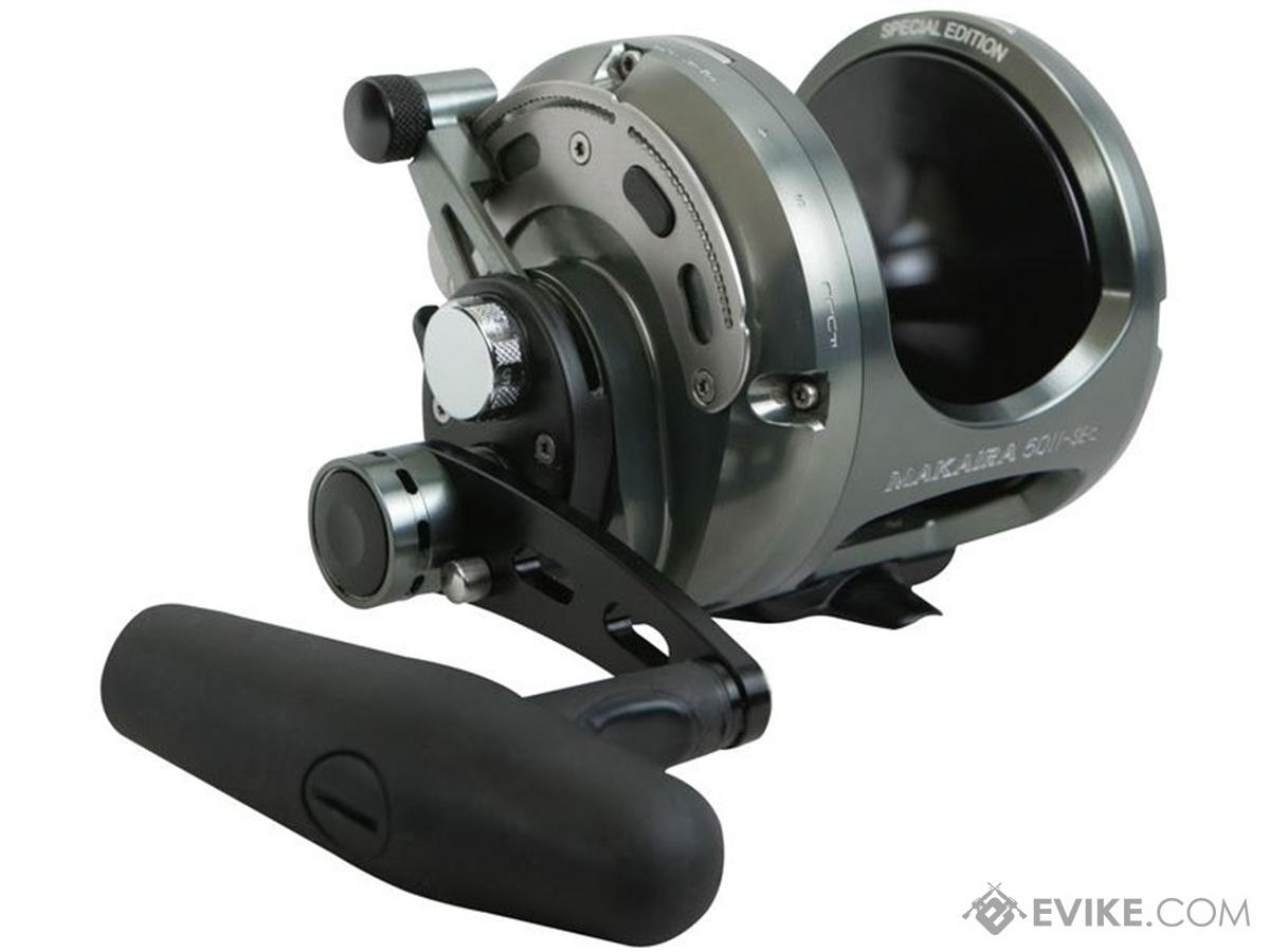 Okuma Reel Makaira Machined Aluminum SE 2-Speed Lever Drag Reel (Style: MK-8IISEa)
