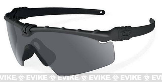 Oakley SI Ballistic M Frame 3.0 Strike Shooting Glasses (Color: Matte Black / Smoke Grey)
