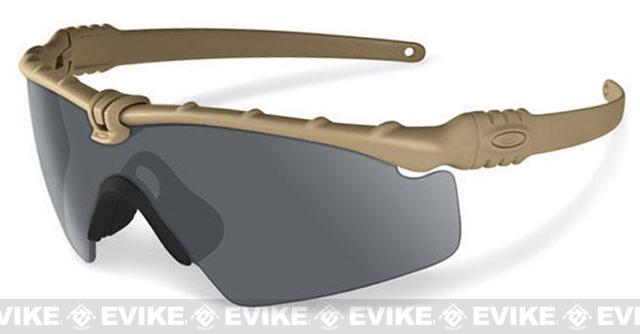Oakley SI Ballistic M Frame 3.0 (Color: Dark Bone Frame / Grey Lens)