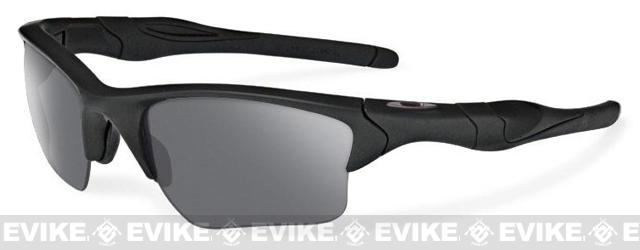 Oakley SI Half Jacket 2.0 XL - Matte Black w/ Grey