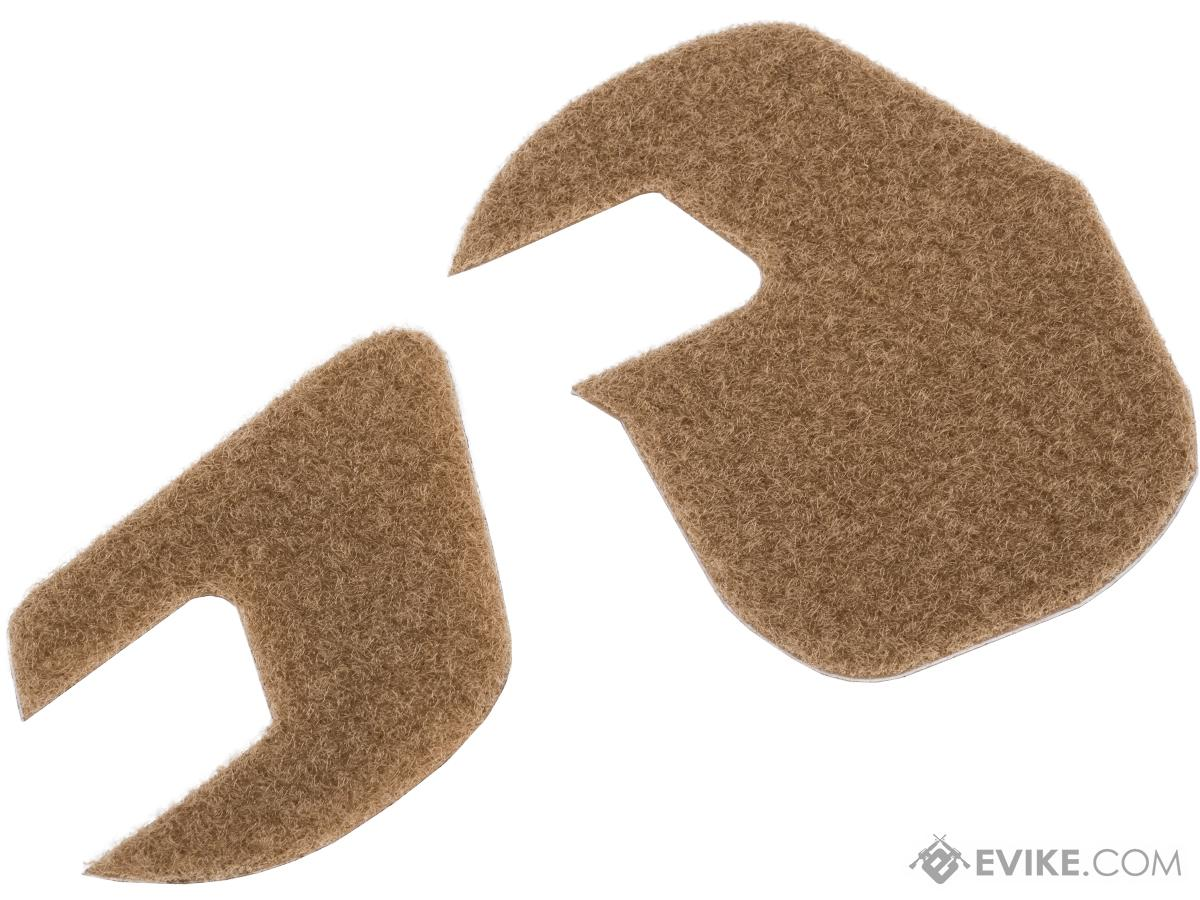 Earmor Hook-and-Loop Stick-On Panels for M31/M32 Headsets (Color: Tan)