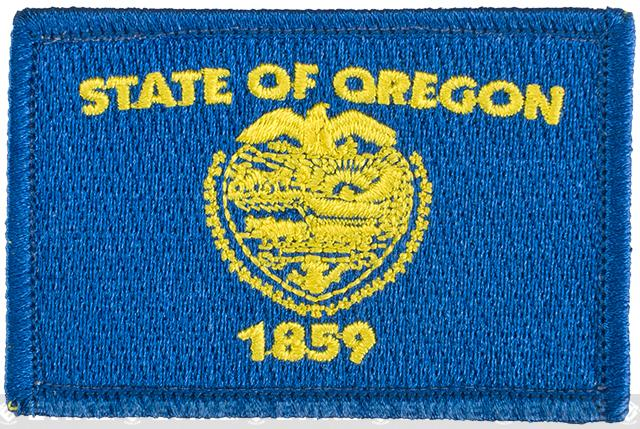 Evike.com Tactical Embroidered Flag Patch (State: Oregon The Beaver State)