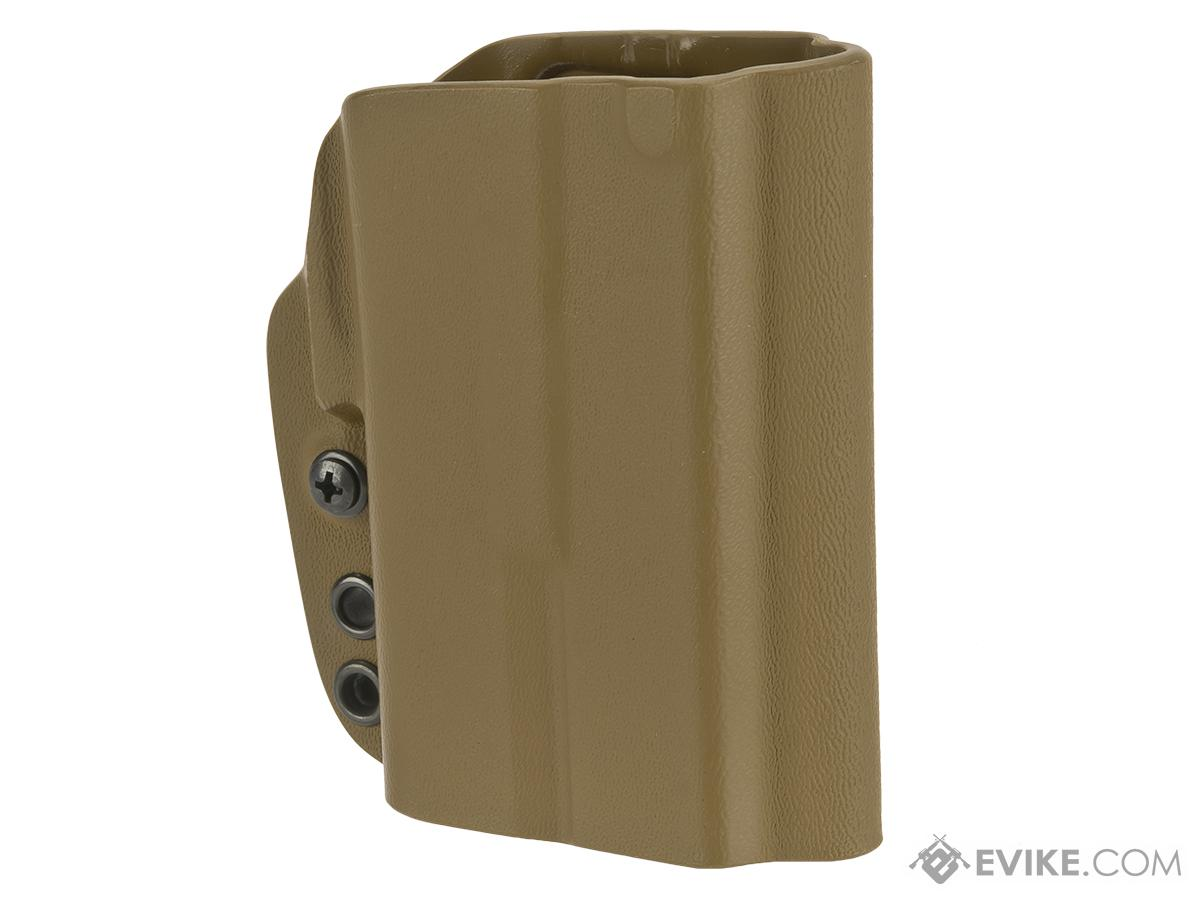 G-Code OSL-RTI Kydex Holster for Glock 19 with Surefire XC1 Weaponlight (Right / Dark Earth)