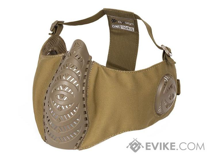 OneTigris T'Farge Foldable Comfort Face Mask (Color: Tan  / With Ear Protection)