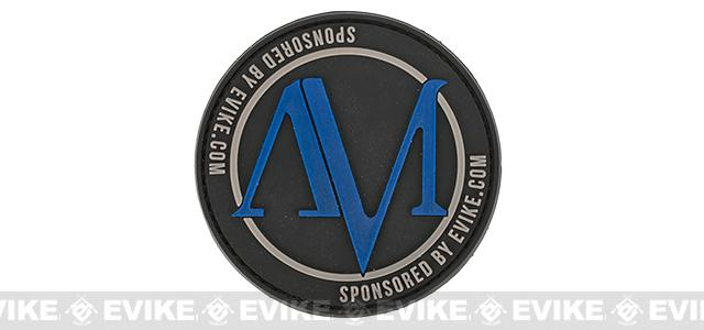 Evike.com / American Milsim PVC Hook & Loop Morale Patch - Black