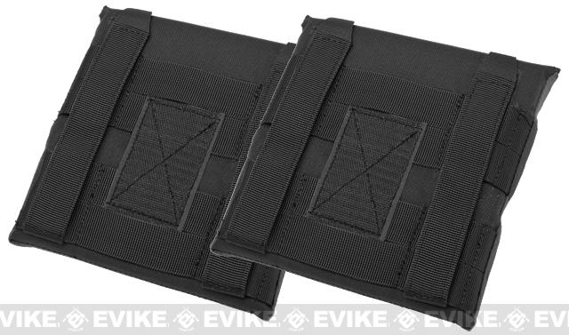 Avengers MOLLE Side Panel for JPC Series Airsoft Plate Carriers - Small / Black