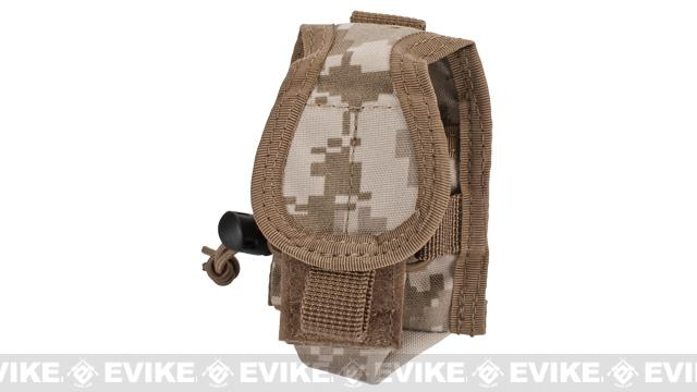 MOLLE Multi-Purpose Handheld FRS Radio MOLLE Pouch (Color: Desert Digital)