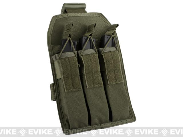 Matrix Airsoft SMG Magazine Thigh Pouch - OD Green
