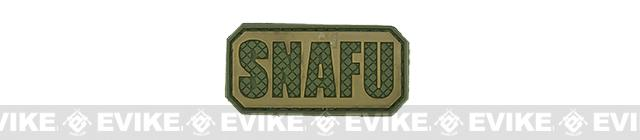PVC Hook and Loop IFF Patch - SNAFU - OD