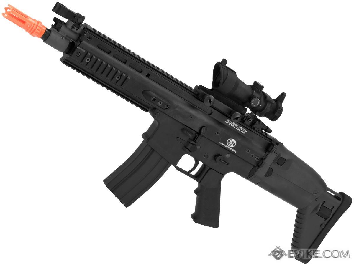 FN Herstal Licensed SCAR Airsoft AEG Rifle by Softair Cybergun CYMA (Color: Black)