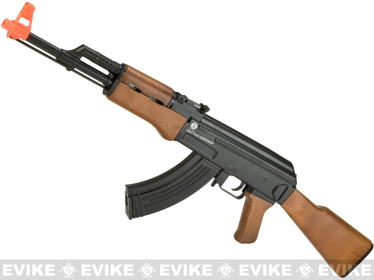 Softair Fully Licensed Kalashnikov AK47 Full Size Low Power Airsoft AEG Rifle